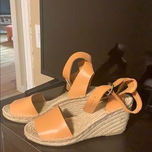 Jcrew wedge sandals